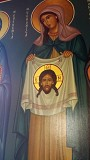 On the wall in the church - Our Christ the Savior