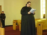 Sub-Deacon Michael Merren shares the Holy Gospel
