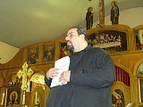 Sharing thoughts in a sermon