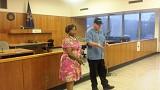 Mayor Michael Bowdler and Police Chief Deborah Hayes-Price