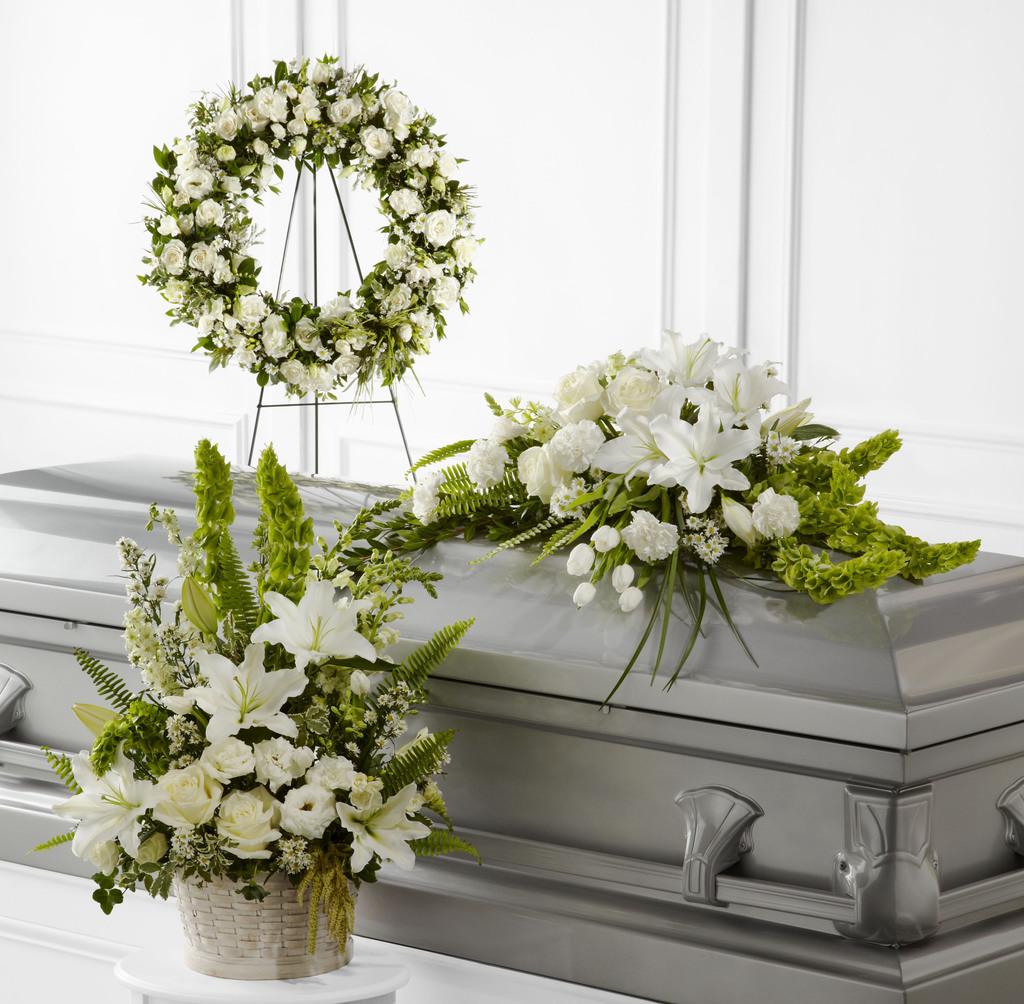 All saints orthodox church funeral arrangements casket sprays funeral wreathes sympathy flowers live plants arrangements izmirmasajfo